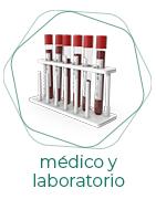 Médico y laboratorio