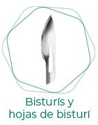 Bisturís y hojas de bisturí