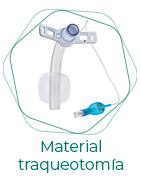 Material traqueotomia
