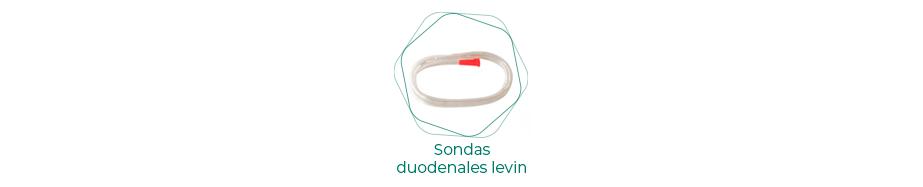 Sondas duodenales Levin L/RX abierta