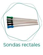 Sondas rectales