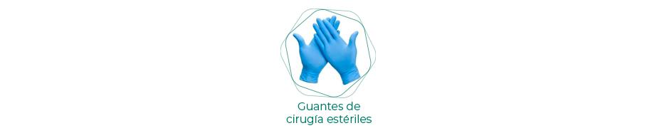 Guantes de cirugía estériles