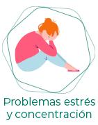 Problemas de estrés y concentración