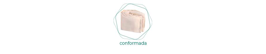 Tubular conformada