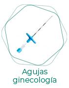 Agujas ginecología