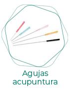 Agujas para acupuntura