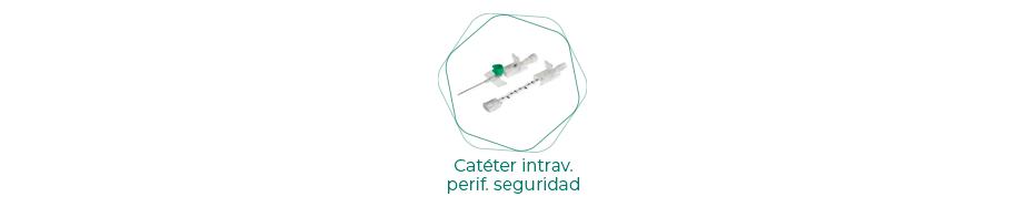 Catéteres intravenosos periféricos de seguridad