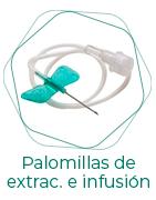 Palomillas de extracción e infusión