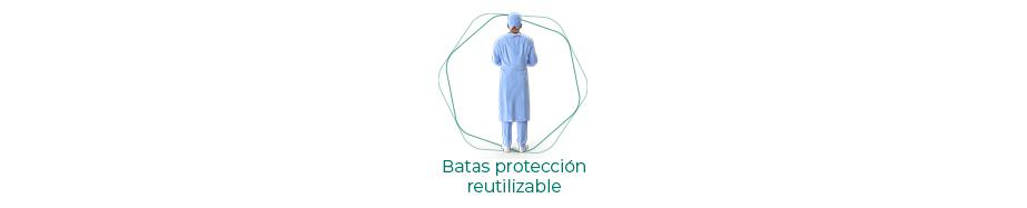 Batas protección reutilizables