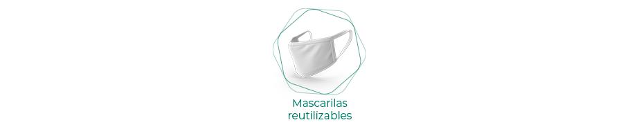 Mascarillas higiénicas reutilizables
