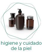 Higiene y cuidado de la piel